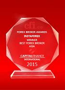Capital Finance International  - Ο καλύτερος μεσίτης στην Ασία 2015
