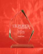 UK Forex Awards 2014 - Καλύτερος μεσίτης ECN Forex