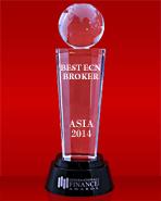 International Finance Magazine 2014 - Ο καλύτερος μεσίτης ECN στην Ασία