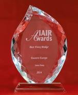 IAIR Awards 2014 - Ο καλύτερος μεσίτης Forex στην Ανατολική Ευρώπη