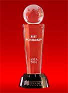 Ο καλύτερος μεσίτης ECN στην Ασία 2016 από τα International Finance Awards