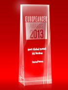 European CEO Awards 2013  - Ο καλύτερος μεσίτης λιανικής Forex