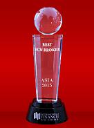 The Best ECN Broker 2015 από το International Finance Magazine